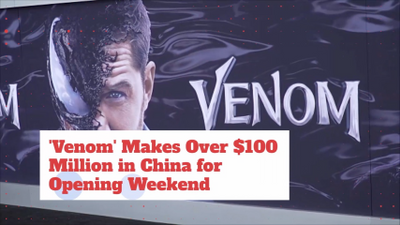 7f04ec34d42b Venom Cashes In 100 Mill Over The Weekend In China Alone – Movie ...