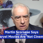 Martin Scorsese Slams Marvel Movies